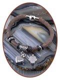 Gevlochten Vintage Dames As Armband - ZMA244V