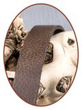 JB Memorials Edelstalen RVS Lederen Gedenk (As) Armband - ZAS051_