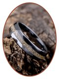 Ceramic Zirconium Uni As Ring (Gold) - TC01G_