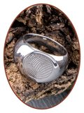 316L Edelstalen Graveer Ring - XR07