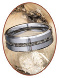 JB Memorials Tungsten Carbide Heren  As Ring - RB048H