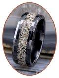 JB Memorials Ceramic Zirconium As Ring - RB141