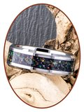 JB Memorials Exclusieve Tungsten Carbide Night Sky Opal As Ring - CRT140-A_