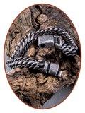 Edelstalen RVS  Heren Graveerbare Vintage As Armband - AB401_