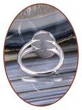 JB Memorials Sterling Zilveren Dames Design Opal As Ring - CM030_