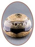 Midi Urn 'Ceramic Dream Brown'  - AU002
