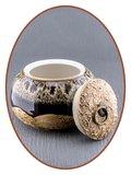 Midi Urn 'Ceramic Dream Brown'  - AU002_