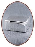 Graveerbare Memory Box / Mini Urn 'Square' - M395_