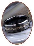 JB Memorials Tungsten Carbide  As Ring - RB048TB_