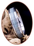 JB Memorials Tungsten Carbide 'Holographic'  As Ring - RB146HG_