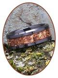 JB Memorials Ceramic Zirconium Heavenly Treasures As gedenk Ring 8mm - JRB141HT_