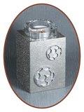 Mini / Midi As Urn met Theelicht Houder - HM287VL