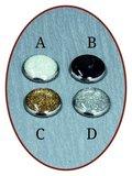 Rhodium/Zilveren JB's Memorials Design As / haarlok sieraad - ZR004_