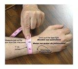 QúeB Memorials  Lederen Special As Armband - ZA004_