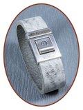 QúeB Memorials  Lederen Special As Armband - ZA004