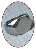 316L Edelstalen Graveer Ring - XR07_