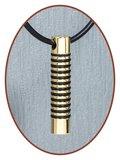 Titanium JB Memorials Premium Goud Design Ashanger - T015