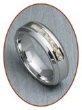 JB Memorials Cobalt Chrome Heren As Ring - RB045CCP