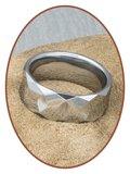 Tungsten Carbide Graveer Ring - KR8059