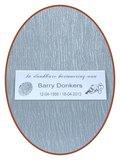 Lasermark reverse gegraveerde naam / gedenkplaat - LG019
