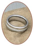 Tungsten Carbide Graveer Ring - KR3107