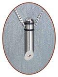 Edelstalen/RVS JB Memorials Premium Ashanger - B001