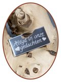 Edelstalen Spiegelgepolijst Graveerplaatje - GR002