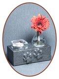 Mini As Urn met Theelicht Houder - HM286