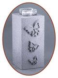 Mini / Midi As Urn met Theelicht Houder - HM287VL_
