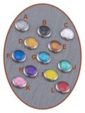 JB Memorials Cobalt Chrome Brede Dames Handschrift As Ring - RB046DH_