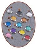 316L Edelstalen JB Memorials Glas Medaillon Ashanger - RSP098_