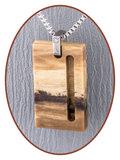"""JB """"Nature Wood"""" Gestabiliseerd Houten Ashanger (meerdere uitvoeringen) - NL001_"""