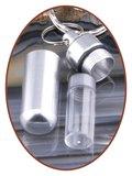 Aluminium Askoker / Sleutelhanger Vlinder - ALU04_