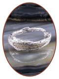 JB Memorials Sterling Zilveren Dames Design As Ring - RB099
