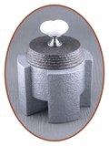 Mini Design As Urn 'Ceramic Heart' in Diverse Kleuren - HM433_