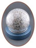 Mini As Urn 'Crackle Glass Ball' in Diverse Kleuren - HM439_