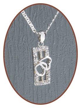 925 Sterling Zilveren Special Ashanger  - ZSP149
