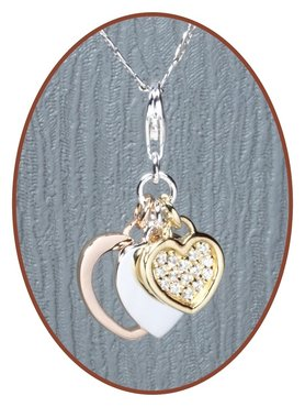 925 Sterling Zilveren 'Heart' Special Assieraad - ZSP188