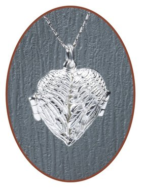 Exclusief 925 Sterling Zilveren 'Angelwing' Assieraad / Medaillon - ZSP223