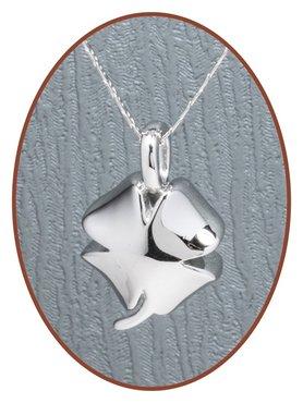 925 Sterling Zilveren 'Klaver' Design Ashanger - Z010