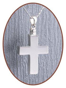 925 Sterling Zilveren 'Kruis' Design Ashanger - Z033