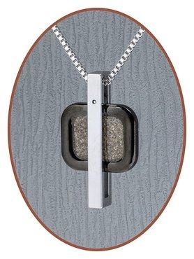 JB Memorials Premium Tungsten Carbide Designer Ashanger - TU012