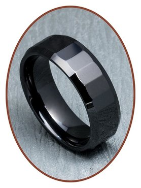 Ceramic Zirconium Graveer Ring - XR01