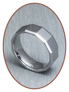 Tungsten Carbide Graveer Ring - XR03