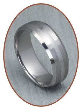 Tungsten Carbide Graveer Ring - XR06