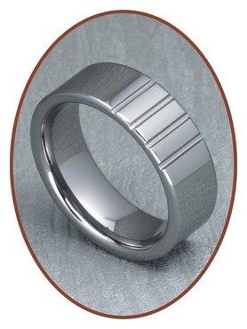 Tungsten Carbide Graveer Ring - XR08