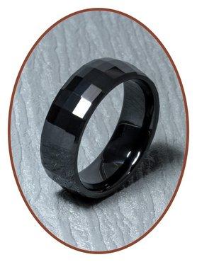 Ceramic Zirconium Graveer Ring - XR18