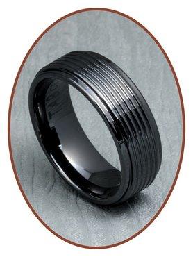 Ceramic Zirconium Graveer Ring - XR21