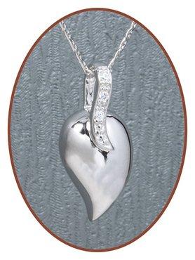 925 Sterling Zilveren 'Traan' Design Ashanger - Z006