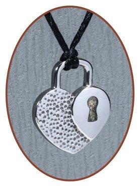 JB Memorials Premium Tungsten Carbide 'Hart' Designer Ashanger - TU004